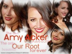 if you do not know Root you aren't looking a serious SerieTV. #PersonOfInterest 13 is not enough. @AmyAcker we love u