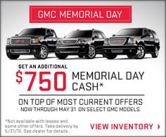 memorial day car sales san jose
