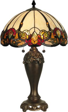 "0-001818>27""h Northlake Table Lamp Dark Antique Bronze"
