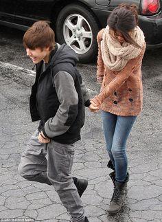Justin and Selena ❤