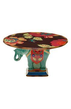 POETIC WANDERLUST Tracy Porter® For Poetic Wanderlust® 'Eden Ranch - Elephant' Cake Stand available at #Nordstrom