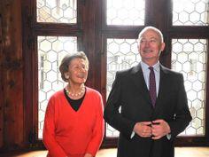 Fürstin Marie und Fürst Hans Adam II