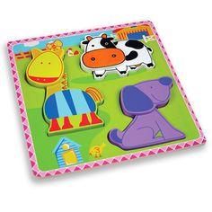 Купете Andreu toys - Моят първи пъзел - Ферма