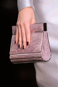 524db354566 Armani Privé Fall 2012 - Details Dali, Armani Prive, Purses And Handbags,  Handbags