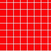 1 inch red with white grid custom fabric by glimmericks for sale on Spoonflower Graph Paper, Pattern Paper, Grid Wallpaper, Spoonflower Fabric, Cute Backgrounds, Instagram Story Template, Insta Story, Aesthetic Art, Paper Design