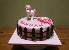 Kindergeburtstag Pferde-Torte