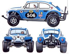 5 Budget Build Off-Road Platforms You Should Seriously Consider Fusca Cross, Carros Suv, Volkswagen Tiguan, Vw Baja Bug, Rc Buggy, Trophy Truck, Rc Autos, Vw Cars, Tamiya