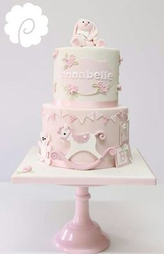 So cute baby cake