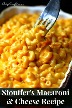 Stouffer's Macaroni & Cheese Recipe!!! This recipe is a copy cat of the real stuff but for a fraction of the cost. This is one of the best macaroni and cheese recipes EVER!!! Done in under 30 minutes #macandcheese #copycat #budgetsavvydiva #recipe via BudgetSavvyDiva.com
