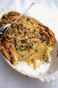 Foodista | The Cookbook Collector: The River Cottage Fish Book + Crab Bread and Butter Pudding