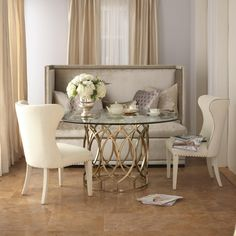 Dining Room, Glass Countertop Dining Table With 2 White Dining Chairs And Dining Room Bench With Back: The Application Of Enchanting Dining Room Bench For Your House