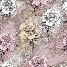 Papel de Parede Floral 1419