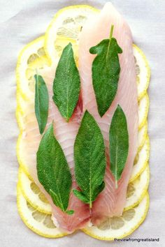 Weight Watchers Style Healthy Lemon Herb Fish