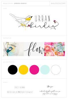 URBAN-BIRDIE-LOGO-DESIGN-Kaleidoscope Designs