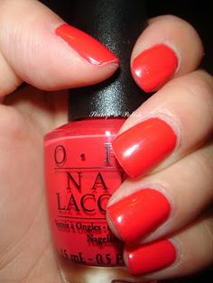 Cajun Shrimp - OPI....looks like a great color that I need to get!
