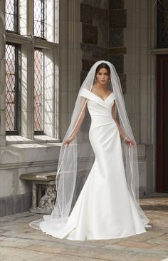 Shop best wedding dresses & bridal gowns from Morilee, have a wide variety of traditionally elegant gown and classic stunning wedding dresses for bridal in the UK. Mori Lee Wedding Dress, Classic Wedding Dress, Bridal Wedding Dresses, Designer Wedding Dresses, One Shoulder Wedding Dress, Wedding Lingerie, Marriage Dress, Moda Fashion, Ivoire