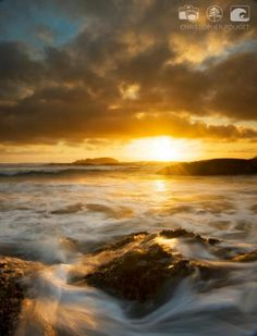 Tofino amazing sunset taken by Chris Pouget who is among my top wedding photographers.