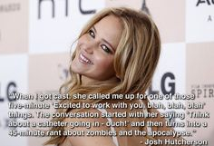 Jennifer Lawrence just being Jennifer Lawrence…
