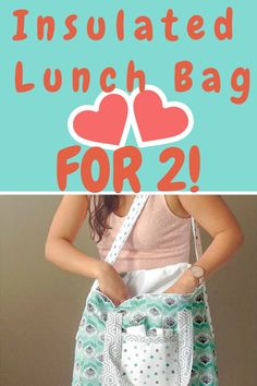 Must Have Spring Sewing Pattern: Lunch for Two Picnic Bag