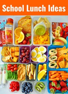 › Back to School Kids Lunch Ideas. Healthy kids lunch ideas that includes wraps, roll-ups, sandwiches, quesadillas, Healthy Lunches For Kids, Toddler Lunches, Kids Meals, Work Lunches, Toddler Lunchbox Ideas, Lunches On The Go, Kids Dinner Ideas Healthy, Snack Ideas For Kids, Veggie Lunch Ideas