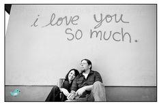 """I love you so much"" wall.  Austin, TX"