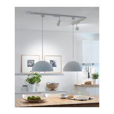 lighting ideas for our open space kitchen IKEA 365+ BRASA Pantalla para lámpara de techo IKEA Crea una iluminación directa muy conveniente para mesas de comedor y de centro, por ejem...