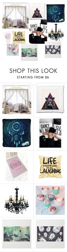 """My bedroom"" by btsannxa ❤ liked on Polyvore featuring interior, interiors, interior design, home, home decor, interior decorating, PBteen and bedroom"
