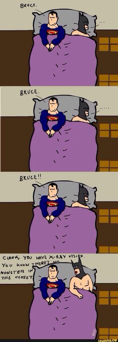 This is why Batmans better  #batman #superman #brucewayn