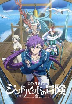 Magi: Sinbad no Bouken (TV) - Spring 2016
