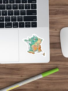 """topographic map of FRANCE with Major cities and Rivers Biscay Green background physical relief map of France"" Sticker by mashmosh France Map, Topographic Map, Canvas Prints, Art Prints, Background S, Green Backgrounds, Rivers, Physics, Cities"