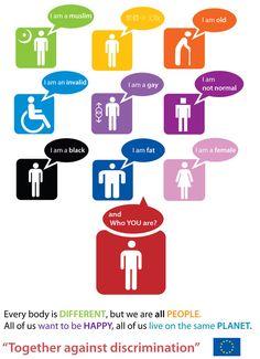 Against discrimination by ~Flincus on deviantART
