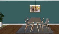Hvordan velge gulvteppe til stuen - Innredningsguiden Dining Table, Furniture, Home Decor, Decoration Home, Room Decor, Dinner Table, Home Furnishings, Dining Room Table, Home Interior Design