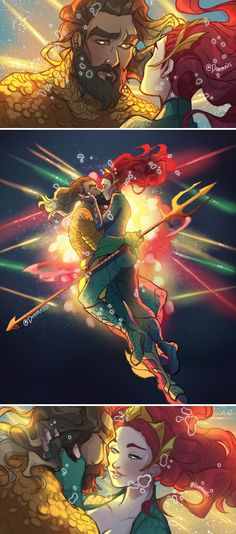 Aquaman Rebirth NM DC Comics 2016 Variant Cover Print 5 Universe for sale online Dc Comics Funny, Dc Comics Women, Dc Comics Girls, Comics Love, Mera Dc Comics, Aquaman Dc Comics, Marvel Dc Comics, Dc Comic Costumes, Dc Couples