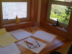 For the Writers:  Create Your Own Writing Retreat (a how-to). For this summer, definitely.