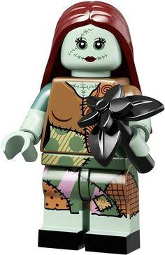 Lego Disney Series 2 Nightmare Before Christmas Sally Minifigure 71024 Lego Disney, Disney Cruise, Disney Aladdin, Disney Pixar, Series Da Disney, Serie Disney, Tim Burton Personajes, Minifigura Lego, Jack Y Sally