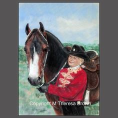 HORSE ART by Theresa Brown