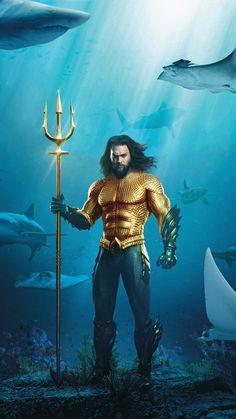 Aquaman Superhero posters and Images Aquaman is a 2018 American superhero film based on the DC Comics character story of Princess Atlanna, Princess Mera Aquaman 2018, Jason Momoa Aquaman, Aquaman Comics, Marvel Dc Comics, Marvel Vs, Comic Movies, Marvel Movies, Hd Movies, Marvel Heroes