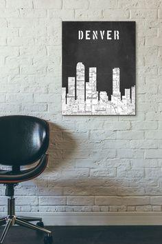 Jersey City Skyline Black And White ArtBlack SkylineJersey MapChalkboard ArtModern Home DecorNo828