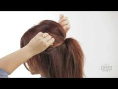 How to Get the Perfect Ponytail - YouTube