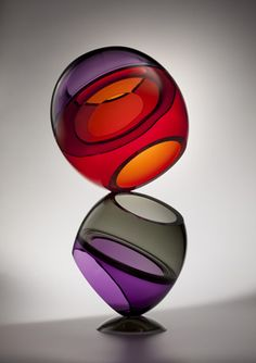 JOHN KILEY | Glass Sculpture by John Kiley at Schantz Galleries