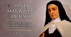 Santa Maravillas de Jesús, Virgen