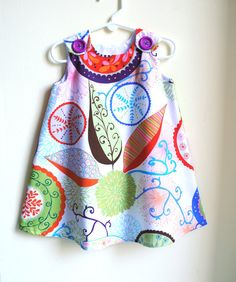 Ingrid in Gypsy Toddler Dress