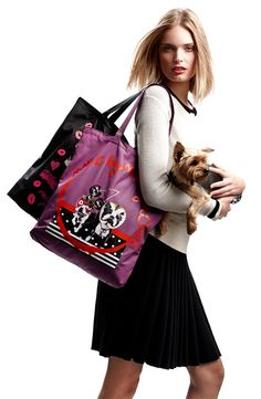 MARC BY MARC JACOBS ~ 'Birds Mash Up' Tote