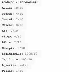 I knew I was an angel watch out for those Sagittarius', Aquarius', and Capricorn's! Hahaha