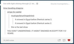 Another thing to add to the list of things that have happened before Sherlock series 3 haha