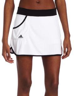 adidas Women's Response Solid Skort, White/Black, Medium. From #adidas. List Price: $40.00. Price: $32.57