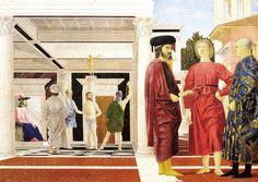 Flagelación, Piero della Francesca
