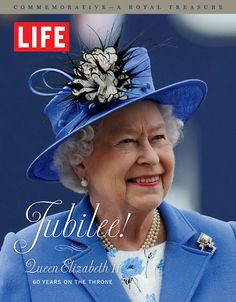 LIFE Books celebrates the Queen's Diamond Jubilee with a book that, accompanied by stunning photographs, tells her royal story in its entirety. Interested in purchasing the book? You can pre-order it here.