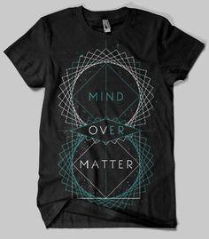 mind over matter #black