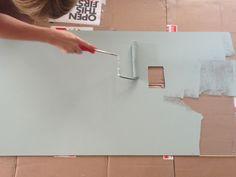 acrylic backsplash install | fogmodern
